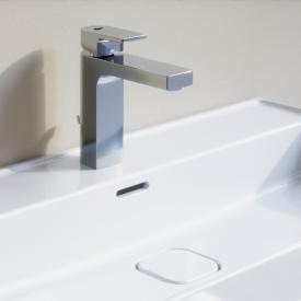 Ideal Standard Edge Einhebel-Waschtischarmatur Slim mit Ablaufgarnitur