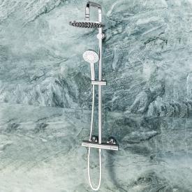 Ideal Standard Idealrain Duschsystem Evo mit CeraTherm 100 Brausethermostat