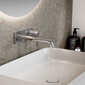 Ideal Standard Joy Wand-Waschtischarmatur Unterputz Bausatz 2 chrom, Ausladung 220 mm