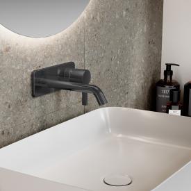 Ideal Standard Joy Wand-Waschtischarmatur Unterputz Bausatz 2 magnetic grey, Ausladung 180 mm