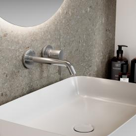 Ideal Standard Joy Wand-Waschtischarmatur Unterputz Bausatz 2 chrom, Ausladung 180 mm