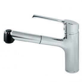 Ideal Standard Retta Einhebel-Küchenarmatur mit ausziehbarer Handbrause, Niederdruck