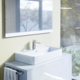 Ideal Standard Strada II Waschtisch weiß, mit Ideal Plus, mit 1 Hahnloch, geschliffen