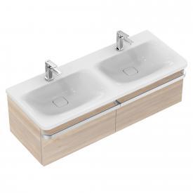Ideal Standard Tonic II Doppelwaschtisch-Unterschrank Front pinie hell dekor/ Korpus pinie hell dekor