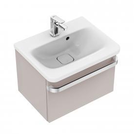 Ideal Standard Tonic II Waschtischunterschrank mit 1 Auszug Front hellbraun hochglanz/ Korpus hellbraun hochglanz