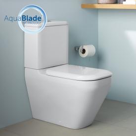 Ideal Standard Tonic II Stand-Tiefspül-WC für Kombination, AquaBlade weiß, mit Ideal Plus