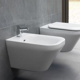 Ideal Standard Tonic II Wand-Bidet weiß, mit Ideal Plus