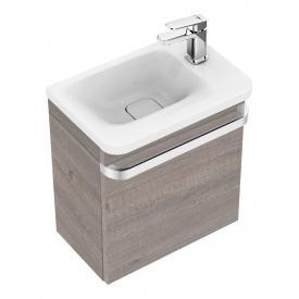 Ideal Standard Tonic II Waschtisch-Unterschrank für Handwaschbecken Front eiche grau dekor/ Korpus eiche grau dekor