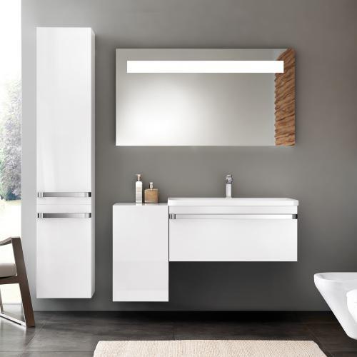 ideal standard tonic ii waschtisch unterschrank front wei hochglanz korpus wei hochglanz. Black Bedroom Furniture Sets. Home Design Ideas