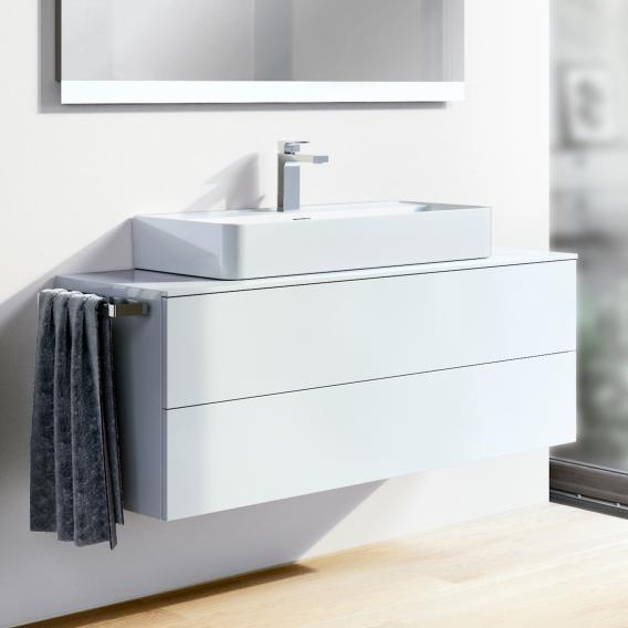 Ideal Standard Adapto Waschtischunterschrank mit 2 Auszügen Front weiß hochglanz / Korpus weiß hochglanz