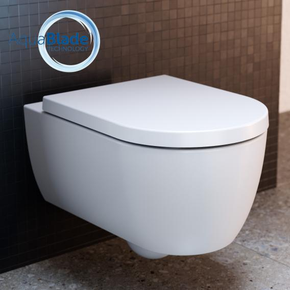 Ideal Standard Blend Wand-Tiefspül-WC AquaBlade round weiß