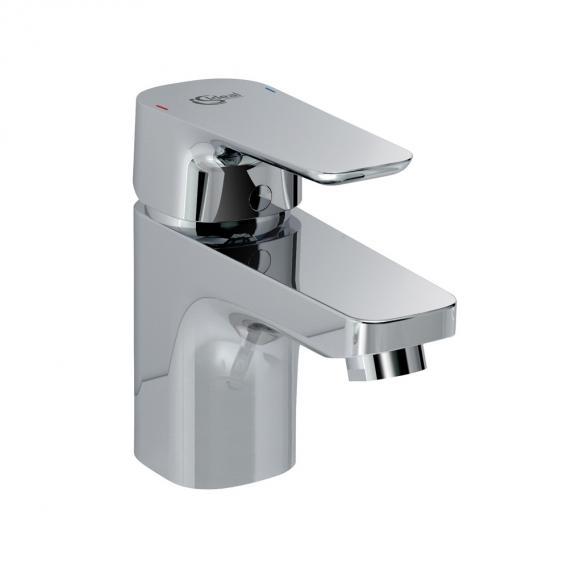 Ideal Standard CeraPlan III Einhebel-Waschtischarmatur 130 mit Durchflussbegrenzer mit Ablaufgarnitur