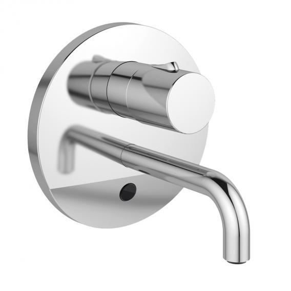 Ideal Standard CeraPlus Sensor-Wand-Waschtischarmatur, mit Temperaturregulierung netzbetrieben, Ausladung: 150 mm