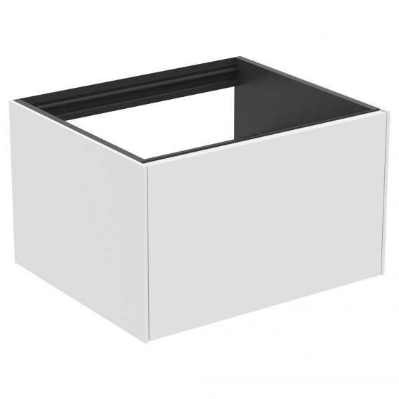 Ideal Standard Conca Waschtischunterschrank für Konsole mit 1 Auszug Front weiß matt / Korpus weiß matt