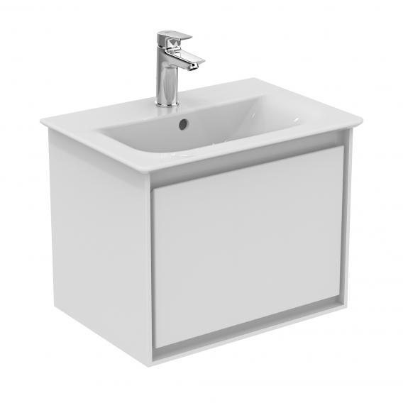 Ideal Standard Connect Air Handwaschbecken mit Waschtischunterschrank mit 1 Auszug weiß, mit Ideal Plus