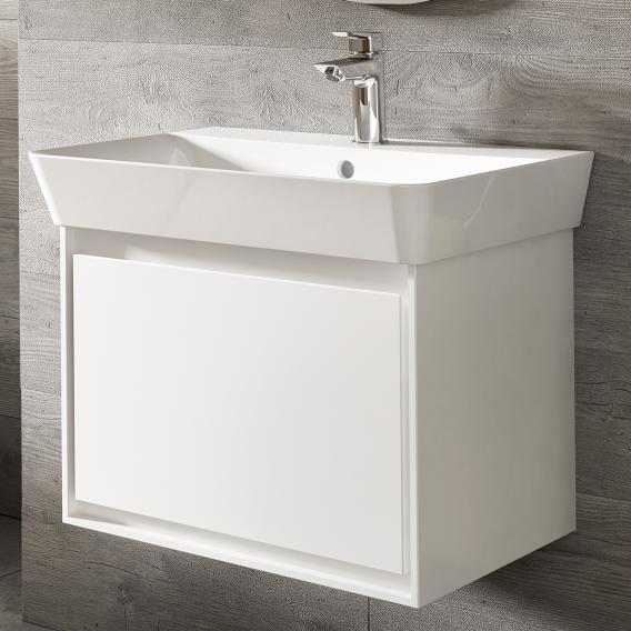 Ideal Standard Connect Air Handwaschbeckenunterschrank mit 1 Auszug weiß glänzend/weiß matt