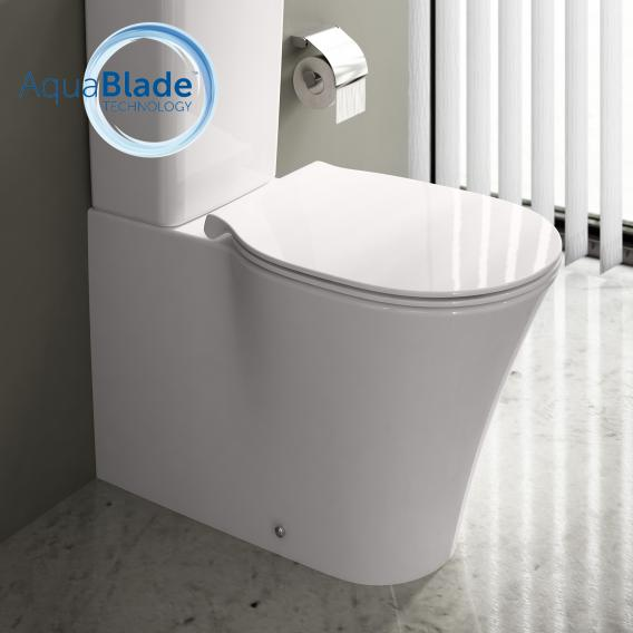 Ideal Standard Connect Air Stand-Tiefspül-WC für Kombination, AquaBlade weiß