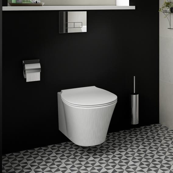 Ideal Standard Connect Air WC-Paket, Wand-Tiefspül-WC AquaBlade, mit WC-Sitz weiß