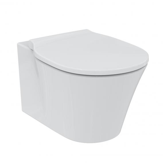 Ideal Standard Connect Air Wand-Tiefspül-WC, ohne Spülrand weiß, mit Ideal Plus
