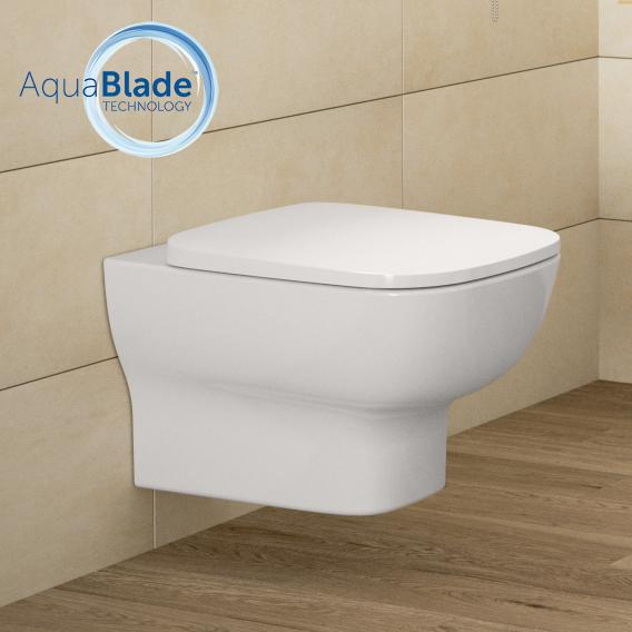 Ideal Standard Connect E Wand-Tiefspül-WC AquaBlade weiß, mit Ideal Plus