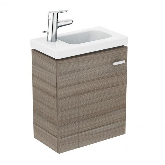 Ideal Standard Connect Space Handwaschbeckenunterschrank mit 1 Tür Front ulme grau / Korpus ulme grau