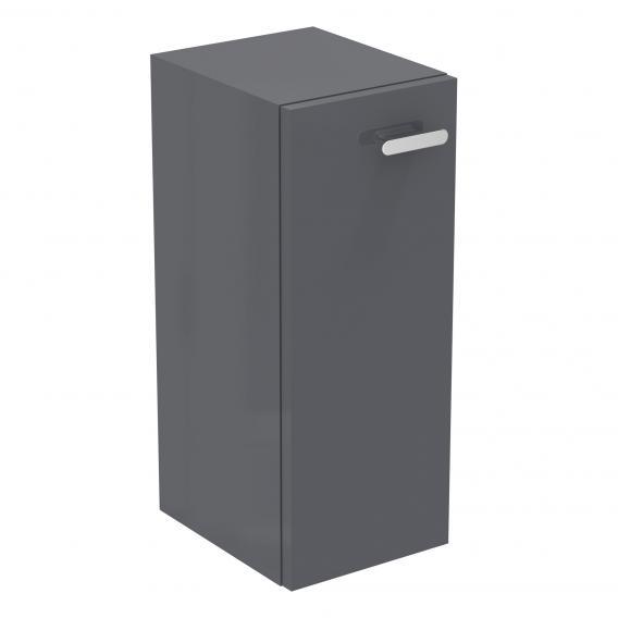 Ideal Standard Connect Space Seitenschrank für Handwaschbecken Front mittelgrau hochglanz / Korpus mittelgrau hochglanz