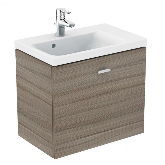 Ideal Standard Connect Space Waschtischunterschrank mit 1 Auszug Front ulme grau / Korpus ulme grau