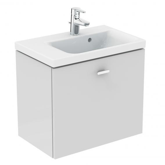 Ideal Standard Connect Space Waschtischunterschrank mit 1 Auszug Front weiß hochglanz / Korpus weiß hochglanz