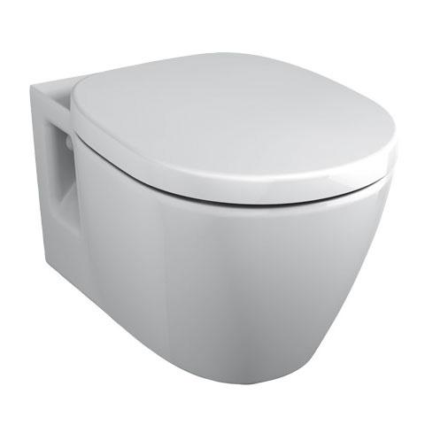 Ideal Standard Connect Wand-Flachspül-WC weiß