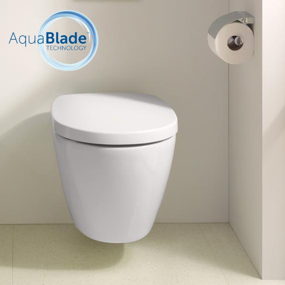 Ideal Standard Connect Wand-Tiefspül-WC AquaBlade weiß