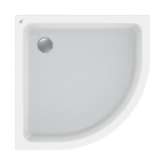 Ideal Standard Hotline Neu Viertelkreis-Duschwanne, Ablauf Ø 52 mm