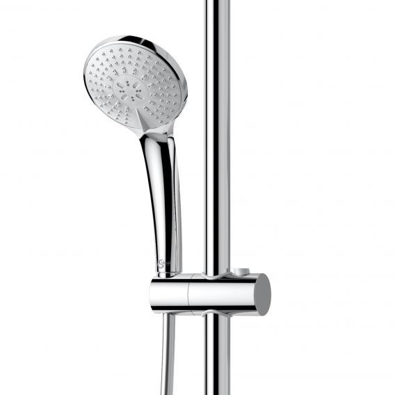 Ideal Standard Idealrain Duschsystem M mit CeraTherm 100 Brausethermostat, schwenkbar