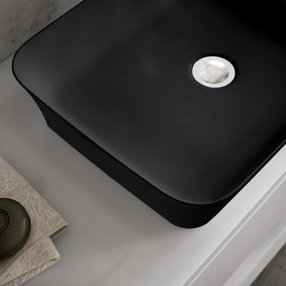Ideal Standard Ipalyss Aufsatzschale schwarz matt, ohne Überlauf