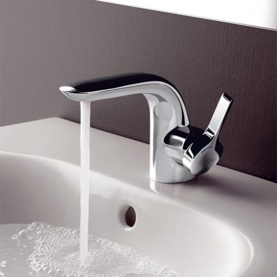 Ideal Standard Melange Einhebel-Waschtischarmatur mit flexiblen Anschlussschläuchen mit Ablaufgarnitur