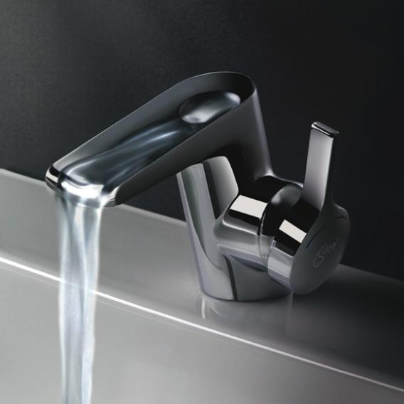 ideal standard melange einhebel waschtischarmatur wasserfall mit ablaufgarnitur b8630aa reuter. Black Bedroom Furniture Sets. Home Design Ideas