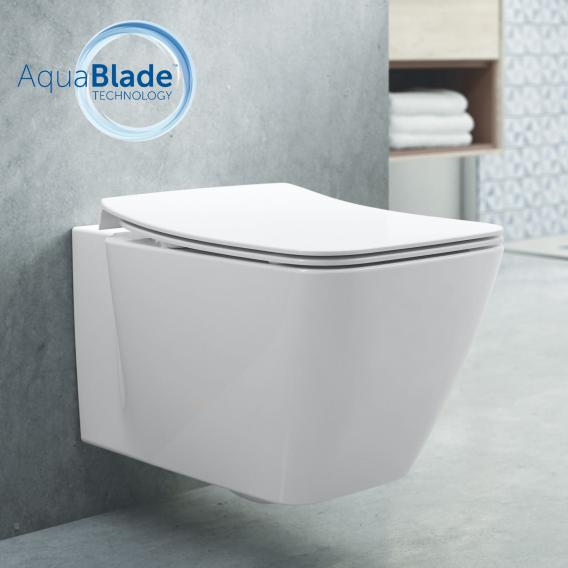 Ideal Standard Strada II Wand-Tiefspül-WC AquaBlade weiß, mit Ideal Plus