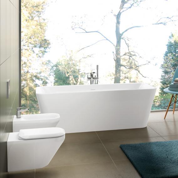 Ideal Standard Tonic II freistehende Badewanne weiß ohne Füllfunktion