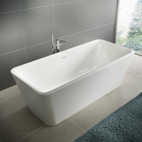 Ideal Standard Tonic II Freistehende Rechteck-Badewanne weiß ohne Füllfunktion