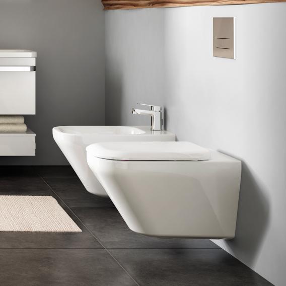 Ideal Standard Tonic II Wand-Tiefspül-WC, spülrandlos weiß, mit Ideal Plus