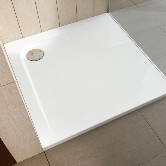 Ideal Standard Ultra Flat Rechteck-Duschwanne bodeneben, mit Träger weiß