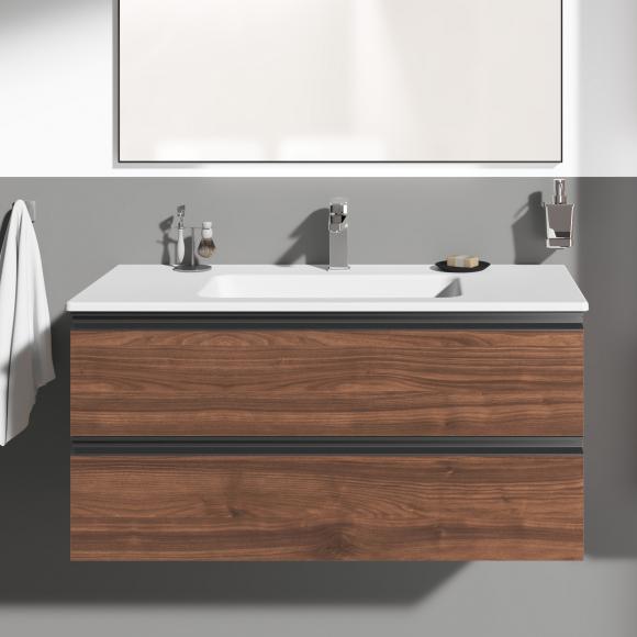 Ideal Standard Connect E Waschtisch mit Waschtischunterschrank mit 2 Auszügen, K8700PA