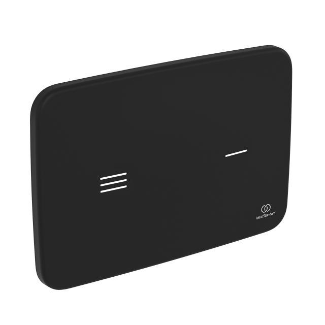 Ideal Standard Altes NT1 Betätigungsplatte elektrisch schwarz