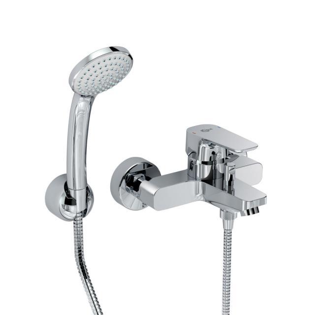 Ideal Standard CeraPlan III Einhebel-Badearmatur Aufputz mit Brause-Set
