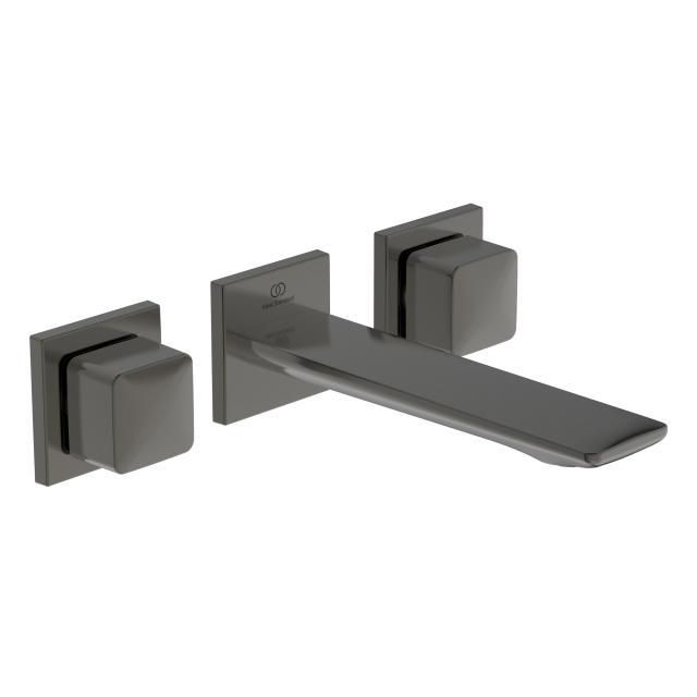 Ideal Standard Conca  3-Loch Waschtischarmatur für Wandmontage magnetic grey