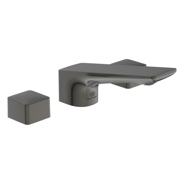 Ideal Standard Conca 3-Loch Waschtischarmatur mit Ablaufgarnitur magnetic grey
