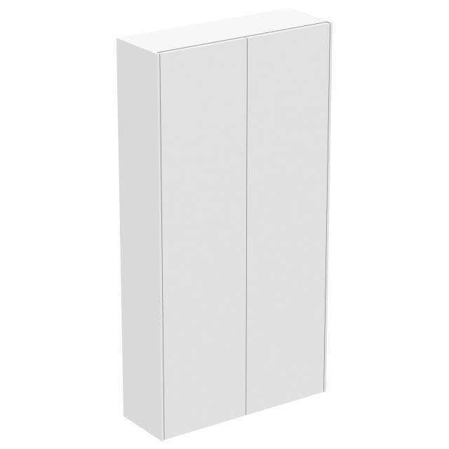 Ideal Standard Conca Halbhochschrank mit 2 Türen Front weiß matt / Korpus weiß matt