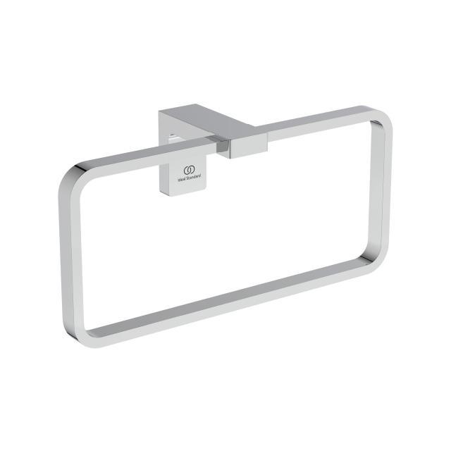 Ideal Standard Conca Handtuchring eckig chrom