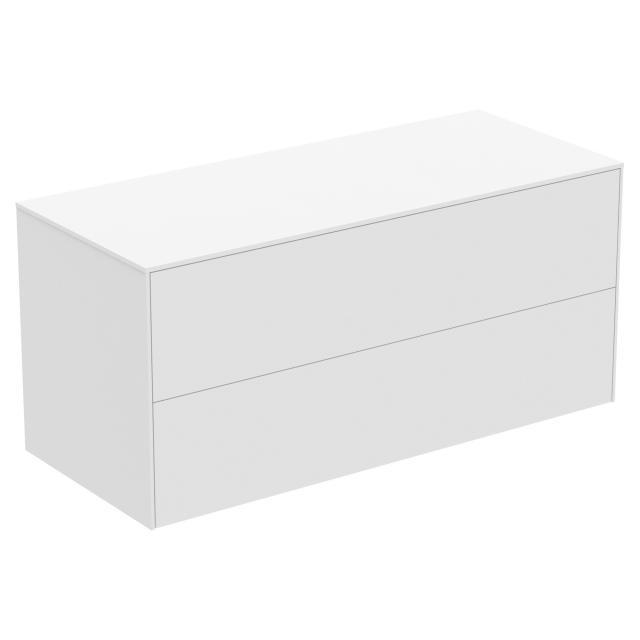 Ideal Standard Conca Seitenschrank mit 2 Auszügen Front weiß matt / Korpus weiß matt