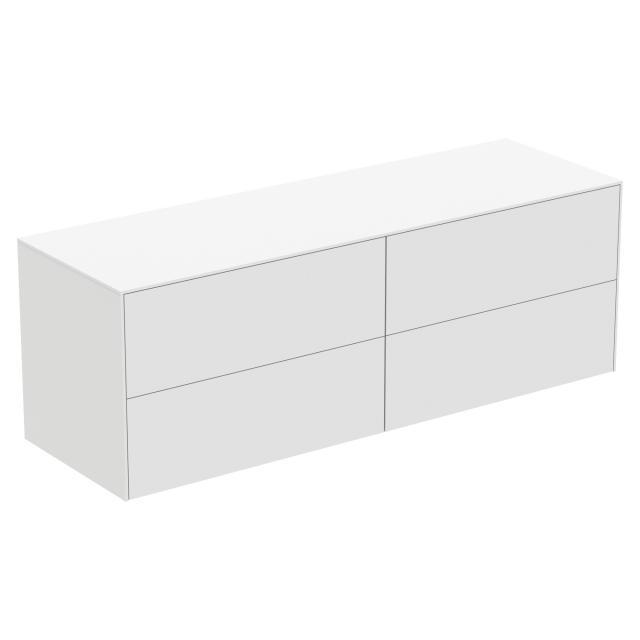 Ideal Standard Conca Seitenschrank mit 4 Auszügen Front weiß matt / Korpus weiß matt