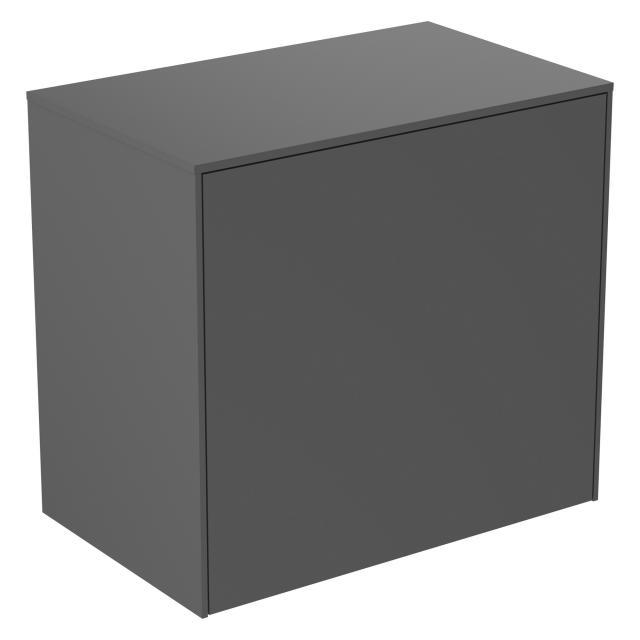 Ideal Standard Conca Seitenschrank mit 1 Auszug Front anthrazit matt / Korpus anthrazit matt